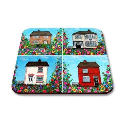 Beatles Childhood Homes Coaster