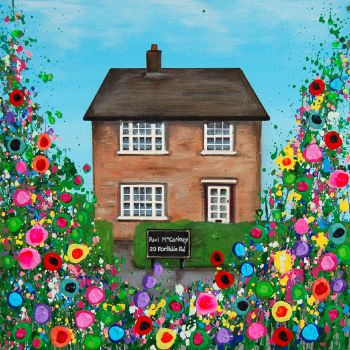 """Paul's Childhood Home Print"" From £10"