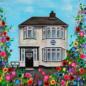 """John's Childhood Home Print"" From £10"