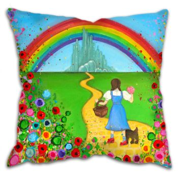 """Dorothy and Toto"" Cushion"