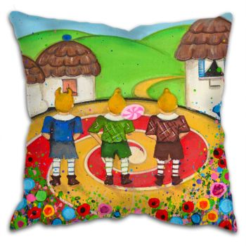 """Munchkins"" Cushion"