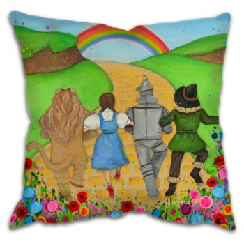 """Dorothy and Friends"" Cushion"