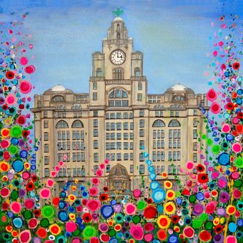 """The Liver Building Canvas Print"" From £85"