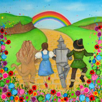 """Dorothy and Friends Print"" From £10"