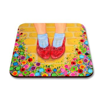 """Ruby Slippers"" Coaster"