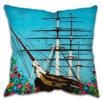 """Cutty Sark"" Cushion"