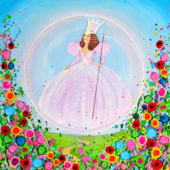 """Glinda Canvas Print"" From £85"