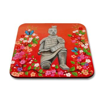 """Terracotta Warrior"" Coaster"