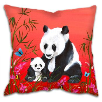 """Chinese Panda"" Cushion"