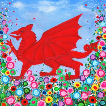 """""""Welsh Dragon Print"""" From £10"""