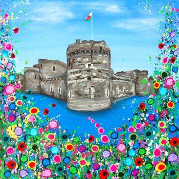 """Beaumaris Castle Print"" From £10"