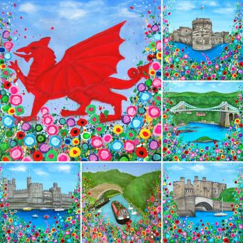 """""""North Wales Montage Print"""" From £10"""