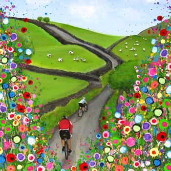"""""""Cycling in the Countryside Print"""" From £10"""