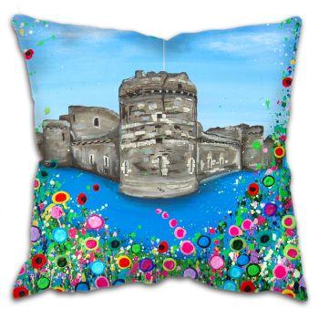 """Beaumaris Castle"" Cushion"