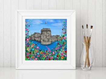 """Beaumaris Castle Print"" From £10"
