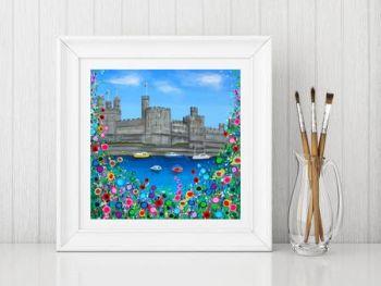 """Caernarfon Castle Print"" From £10"