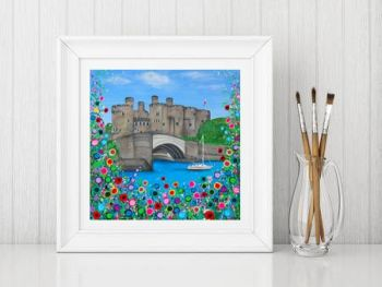 """Conwy Castle Print"" From £10"