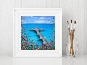 """Llandudno Pier Print"" From £10"