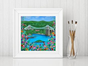 """Menai Bridge Print"" From £10"
