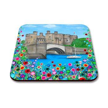 """""""Conwy Castle"""" Coaster"""