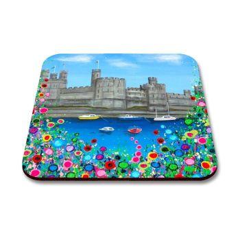 """Caernarfon Castle"" Coaster"