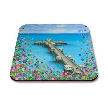 """""""Llandudno Pier"""" Coaster"""