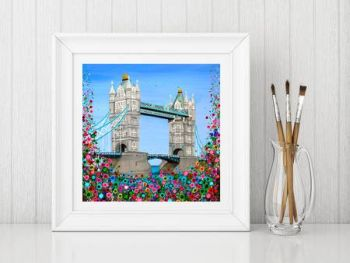 """Tower Bridge Fine Art Print"" From £10"