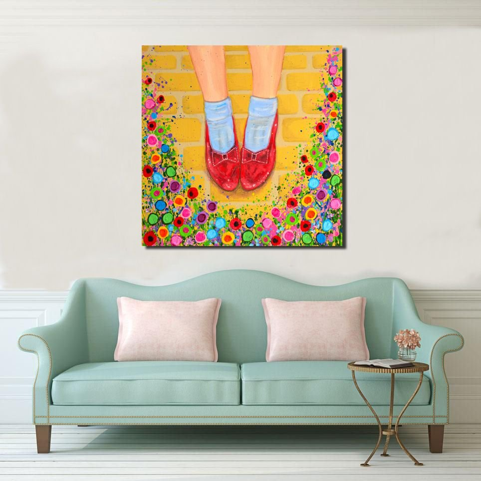 WIZARD OF OZ CANVAS PRINTS