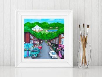 Jo Gough - Lark Lane Street Scene Print From £10