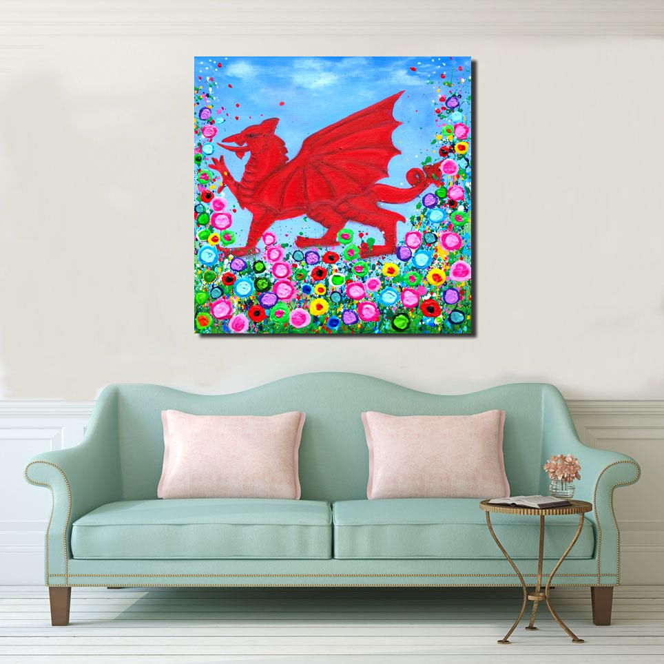 WELSH CANVAS PRINTS