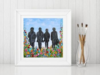 """Beatles Statues Print"" From £10"