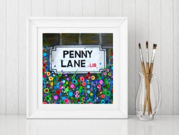 """Penny Lane Print"" From £10"
