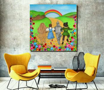 """Dorothy and Friends Canvas Print"" From £85"