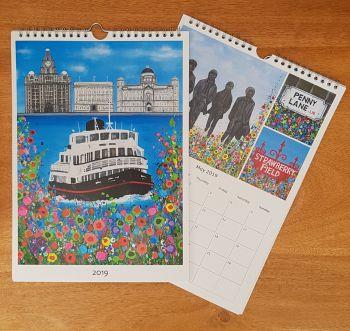 Jo Gough - Liverpool Landmarks Calendar 2019