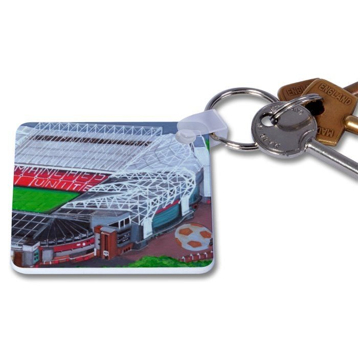 Jo Gough - MUFC - Old Trafford Stadium (PLAIN) Key Ring
