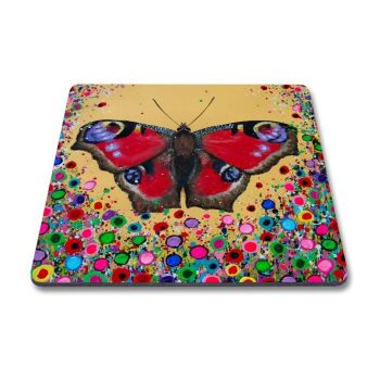 Jo Gough - Butterfly with flowers Magnet