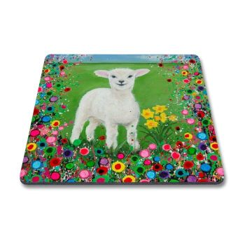 Jo Gough - Welsh Lamb with flowers Magnet
