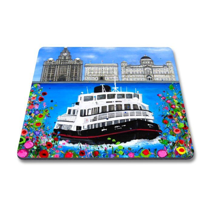 Jo Gough - 3 Graces with flowers Magnet