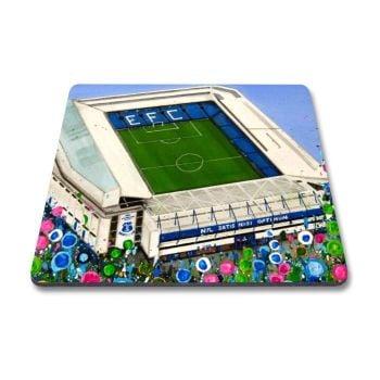Jo Gough - EFC Stadium with flowers Magnet