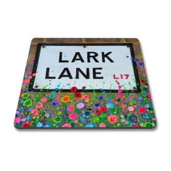 Jo Gough - Lark Lane with flowers Magnet