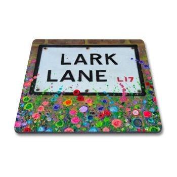 Jo Gough - Lark Lane with flowers Magnet