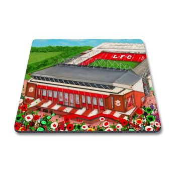 Jo Gough - LFC Stadium with flowers Magnet