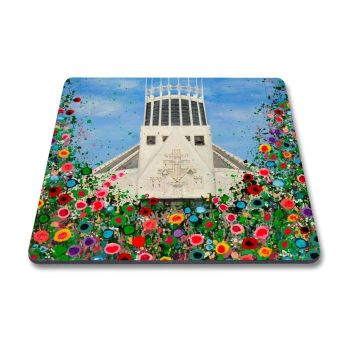 Jo Gough - Met Cathedral with flowers Magnet