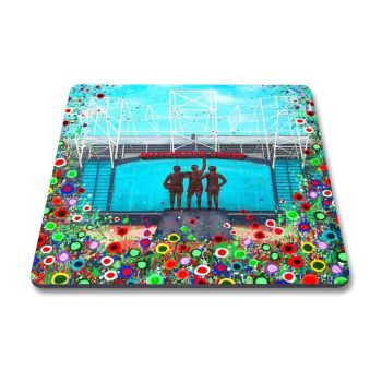 Jo Gough - MUFC Old Trafford Stadium with flowers Magnet
