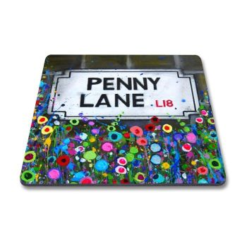Jo Gough - Penny Lane with flowers Magnet