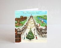 Jo Gough - Merry Christmas from Chester Christmas Card