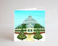 Jo Gough - The Palm House at Christmas Card