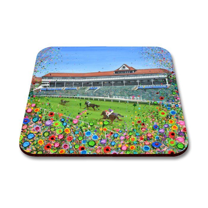 Jo Gough - Chester Racecourse with flowers Coaster *** COMING SOON ***