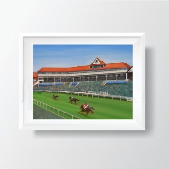 Jo Gough - Chester Racecourse (Plain) 40x30cm