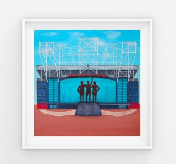 Jo Gough - MUFC Old Trafford Stadium (Plain) 30x30cm